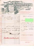 Alger Vermoutherie Sirops & Liqueurs Gang Mousseux Fournisseur Des Hopitaux Maison Delbays Frères - Invoices & Commercial Documents