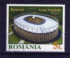 RUMANIA / ROMANIA / ROUMANIE  Año 2011   Yvert Nr. Usada  Estadio   Arena -Bucuresti - 1948-.... Repúblicas