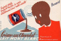 - BUVARD Crème MONT-BLANC à RUMILLY - 163 - Produits Laitiers