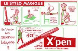 - BUVARD Stylo X' PEN - 164 - Stationeries (flat Articles)