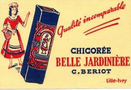 - BUVARD Chicorée BELLE JARDINIERE à LILLE - 166 - Café & Thé