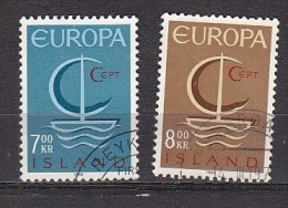 PGL Q109 - ISLANDE ICELAND Yv N°359/60 - 1944-... Republik