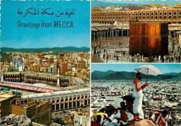 CPSM Arabie Saoudite-Greetings From Mecca     L1309 - Arabie Saoudite