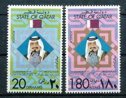 STATE OF QATAR  Mi.Nr. 722-723 - MNH - Qatar