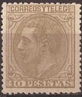 ES209-L2231TCFR.ESPAÑA.Rey ALFONSO XLL.1879.(Ed .209*) CERTIFICADO - Familias Reales