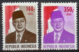 Mgm1230 BEROEMDE PERSONEN PRESIDENT SOEHARTO PRÄSIDENT SUHARTO FAMOUS PEOPLE INDONESIA 1985 PF/MNH  VANAF1EURO - Indonesië