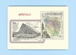 CP MD 91050 - CARTE POSTALE DESSIN / Département - 91 MEREVILLE - Mereville
