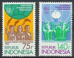 Mgm1233 INTERNATIONALE JEUGDJAAR INTERNATIONAL YEAR OF THE YOUTH JAHR DER JUGEND INDONESIA 1985 PF/MNH  VANAF1EURO - Indonesië