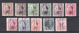01839 España Edifil 593-603 * (*) Cat. Eur. 148,- - 1931-50 Unused Stamps