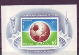 Roumanie Roemenie 1974 Yvertn° Bloc 114a Michel N° 115 *** MNH Cote 110 Euro Sport Football - Blokken & Velletjes