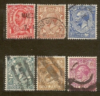 Gran Bretagna Great Britain   N. 132-141-143-145-146-147/U S- 1911/1922  Lot Lotto