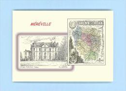 CP MD 91366 - CARTE POSTALE DESSIN / Département - 91 MEREVILLE - Mereville