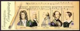 B/C 102 Meesters Van De Muziek/Les Maîtres De Musique - Ongetand/non Dentelé/unperforated - No Dentado