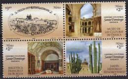 Jardin Ethnobotanique De Cactus De Oaxaca. 4 Val. Neuves ** - Mexique
