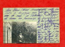 * Photo D´un Homme Sur Carte Postale à Identifier(Adresse Au Dos FIRENZE...a Voir)-Carte Voyagée - Firenze (Florence)