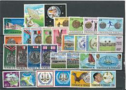 Trinité: 294/ 296 + 306/ 314 + 318/ 327 + 330/ 337 ** - Trinité & Tobago (1962-...)