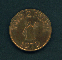 GUERNSEY - 1979 2p Circ - Guernsey