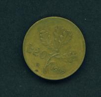 ITALY - 1957 20l Circ - 20 Lire