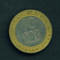 KENYA - 1997 10s Circ - Kenya