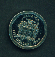 JAMAICA - 1994 $5 Circ - Jamaica