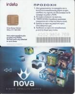 GREECE - Nova Digital(version Kappa), Satelitte TV Card, Chip 4, Used - Other Collections