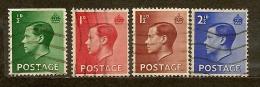 Gran Bretagna Great Britain  N. 205-206-207-208 /US- 1936  Lot Lotto - Usati