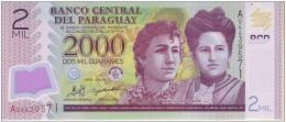 PARAGUAY 2000 Guaranies 2008 UNC POLYMER - Paraguay