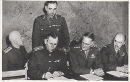 LOT De 19 Cartes : Salle De La Capitulation Collège Moderne Et Technique De REIMS Le 7 Mai 1945( Lire Description 3scan) - Weltkrieg 1939-45