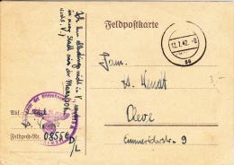 Feldpost WW2: From Maastricht In The Netherlands: Infanterie-Ersatz-Bataillon 77 (4. Kompagnie) FP 08556 D/L Dtd 12.7.19 - Militaria
