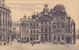 Bruxelles - Maisons Du Grand Duc Charles De Lorraine Et Du Prince D'Orange (animée, Automobile) - Bruxelles-ville