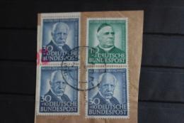 @ 1 € NO RESERVE BRD 1953 USED MI 176 3 MAAL 1 MAAL SMALL DEFECT NOT COUNTED  MI ++ 160 € NANSEN NOBEL NOBELPRIJS - BRD