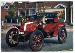 Automobile DE DION BOUTON 1904 Immatriculée N 1200 - VCC 1904 à Capote - Passenger Cars