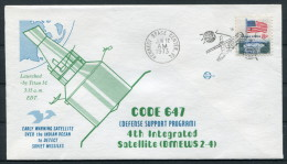 1973 USA Code 647 Kennedy Space Centre Rocket Cover - Covers & Documents