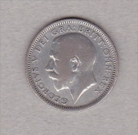 Groot Brittanië - UK - George V - Sixpence 1925- Silver .500 - 1902-1971 : Post-Victorian Coins