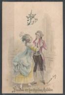 TUCK - Bonne Et Heureuse Année - Couple Ancien Régime - Tuck, Raphael