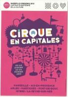Flyer- Cirque En Capitales - Cirque