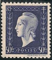 1945  Marianne De Dulac + Arc De Triomphe  Lot 11 Timbres Neufs Y&T N° 701 à 711 - France