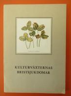 """Kulturväxternas Bristsjukdomar"" Von 1955 Aus Schweden - Books, Magazines, Comics"