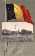 Belgique, Ostende, Le Chalet Du Roi - Belgique