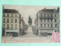 CHALON SUR SAONE - Statue De Nicephore NIEPCE - Chalon Sur Saone