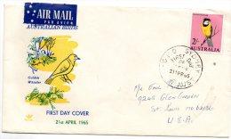 Australia 1965 FDC - Premiers Jours (FDC)