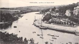 PONT AVEN - Le Port Et Le Square Botrel - Pont Aven