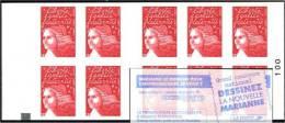 Carnet Luquet YT 3419 C13  - AVEC CARRE NOIR - FRANCE A VIVRE PORTRAIT DE REGION - Carnets