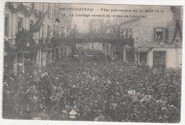 Neufchâteau - Fête Patriotique Du 31 Août 1919 - Le Cortège Venant De La Rue De Longlier - Neufchâteau