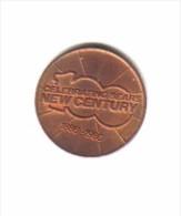 U.S.A.     SEARS 1886-1986  New Century  Token - USA