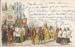 7242 - Procession à La Fête De Saint-Etienne à Budapest En 1896 - Hongrie