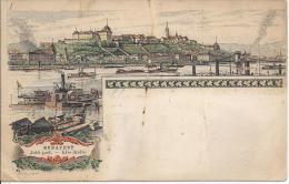 7245 - Budapest Rive Droite En 1896 (Etat Moyen) - Hongrie