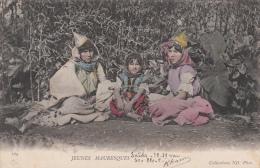 ALGERIE - JEUNES MAURESQUES - Kinder