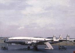 Aviation Postcard-385-AVIANCA COLOMBIA Lockheed L-1049 CONSTELATION - 1946-....: Moderne