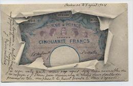 Banque De France : Cinquante Francs - Monnaies (représentations)